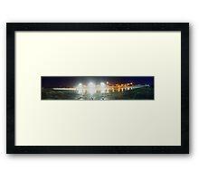 Newcastle Baths Panorama Framed Print