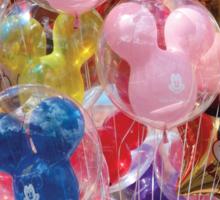 Disney World Balloons Sticker