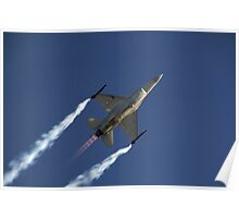 Royal Dutch Airforce F16 Poster