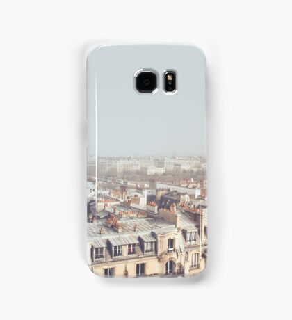 Paris Morning Rooftops Samsung Galaxy Case/Skin