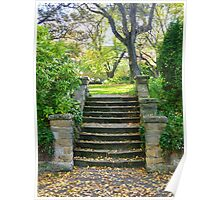 Autumn Steps Poster