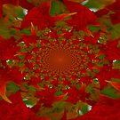 Swirling Leaves by Linda Miller Gesualdo