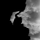 Climbing on Liberty by Wayne King