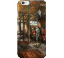 Firemen - Answering the firebell 1922 iPhone Case/Skin