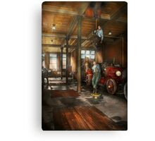 Firemen - Answering the firebell 1922 Canvas Print