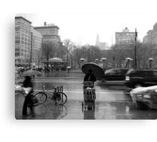 Union Square in the rain Canvas Print