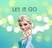 Phone Case -  Elsa Frozen Let it go by VectorAF