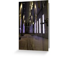 Bouncing Light Boxes Greeting Card