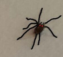 """""""Spider on the Wall"""" by Richard F. Yates Sticker"""