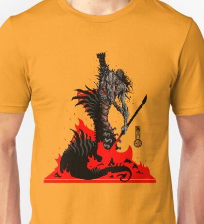 The Game of Kings, Wave Six: The Black Queen's Rook Unisex T-Shirt