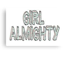 Girl Almighty - One Direction  Canvas Print
