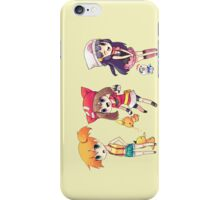 pokemon torchic misty psyduck piplup chibi anime shirt iPhone Case/Skin