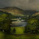 Last light on Ullswater by eddiej