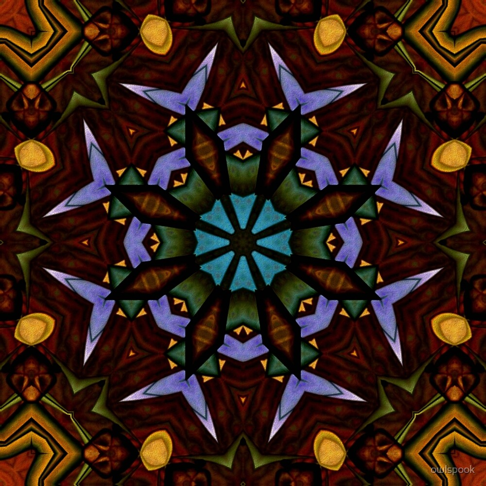 The Wheel of Life Mandala by owlspook