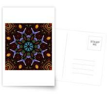 The Wheel of Life - Mandala Postcards