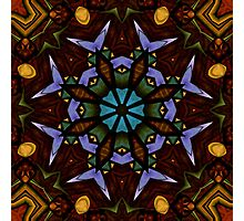 The Wheel of Life - Mandala Photographic Print