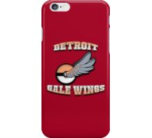 Detroit Gale Wings - RIPPTee Designs. iPhone Case/Skin