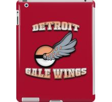 Detroit Gale Wings - RIPPTee Designs. iPad Case/Skin
