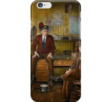 Firemen - Sharing his wisdom - 1942 iPhone Case/Skin