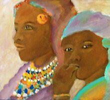 massai mother and child by LJonesGalleries