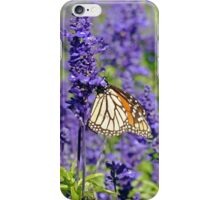 Lavender Butterfly iPhone Case/Skin