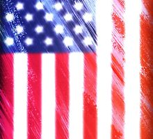 American flag usa us banner stripes stars patriot by Dopealicious