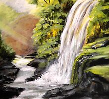 Waterfall by Pamela Plante