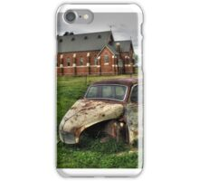 Austin A40, at Oxley, Victoria iPhone Case/Skin