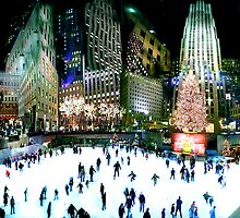 Rockerfeller Center, New York by graffitology