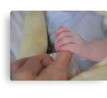 Newborn affection Metal Print