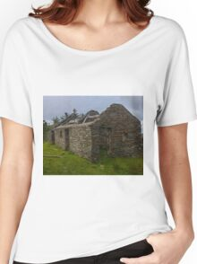 Stonework of a ruin Women's Relaxed Fit T-Shirt