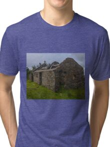Stonework of a ruin Tri-blend T-Shirt