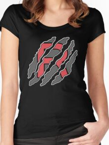 RocketRIPP - RIPPTee Designs. Women's Fitted Scoop T-Shirt