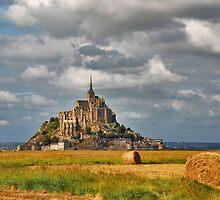 Le Mont St. Michel by Adri  Padmos