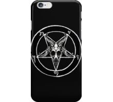 Baphomet Pentagram iPhone Case/Skin