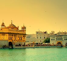 GOLDEN TEMPLE by manumint
