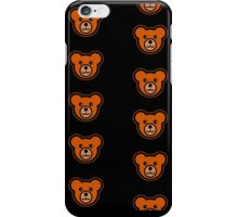 Teddy Bears on Black Background iPhone Case/Skin