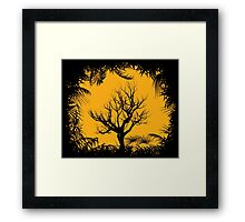 Tree Clearing Framed Print