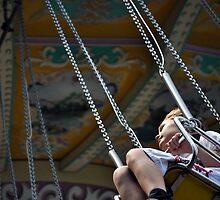 Enjoying the ride by Gotcha  Photography