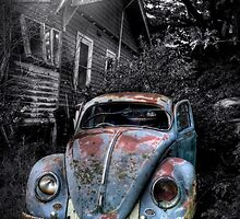 Volkswagen Beetle, Secret location, Melbourne,Victoria by ripphotos
