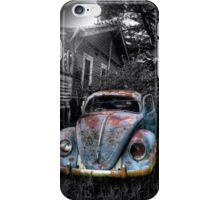 Volkswagen Beetle, Secret location, Melbourne,Victoria iPhone Case/Skin