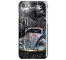 Volkswagen Beetle, Secret location, Melbourne,Victoria iPhone Case/Skin