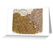 healthy texture Greeting Card
