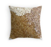 healthy texture Throw Pillow