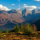 The Five Sisters of Kintail from Mam Ratagan,North West Scotland. by PhotosEcosse