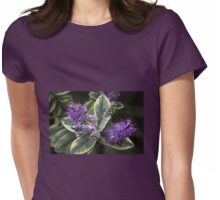 Purple hebe Womens Fitted T-Shirt
