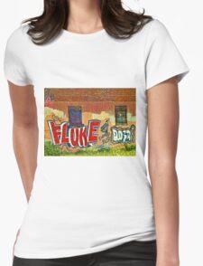 Graffitti Womens Fitted T-Shirt