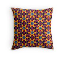Kaleidoscope Scarf. Throw Pillow