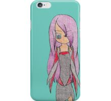 Simple Original Anime Character iPhone Case/Skin