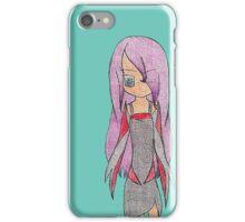 Simple Original Anime Character iPhone Case/Skin